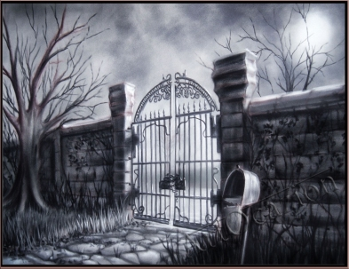 """The Gate"" Panting by Yordan Dimitrov"