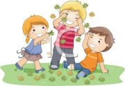 0511-1104-2714-4869_Children_Playing_in_Fall_Leaves_clipart_image