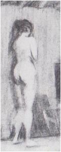Sketch by Edward Hopper