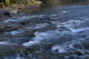 Photo of rushing river in the UK's Lake District