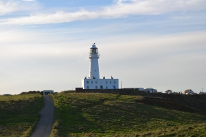 Photo of lighthouse at Flamborough, UK by Michelle Sherlock 2015
