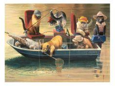 """Gone Fishing""  Bryan Moon www.pinterest.com"