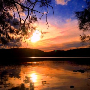 Sunset at Narrabeen Lake - image by Seafarrwide