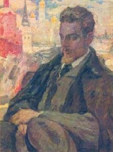 Rainer Maria Rilke by Leonid Pasternak