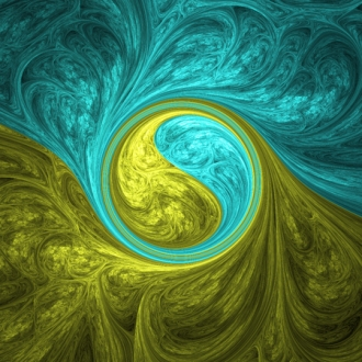 52766579 - abstract crazy fractal shapes as psychedelic background