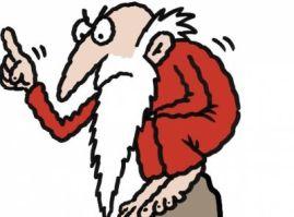 old-age-retirement-beard-man-finger-squat-guru 2