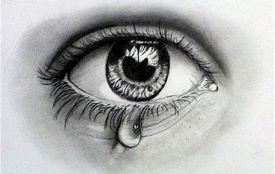 a tear drop
