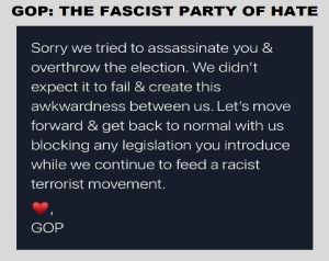 GOP party of hate