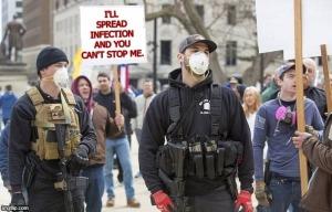 Anti-Vaxxer Insurrectionists