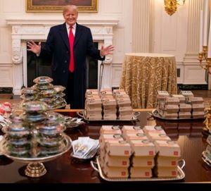 Trump Free Lunch