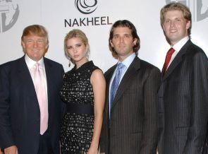 trump and his progeny